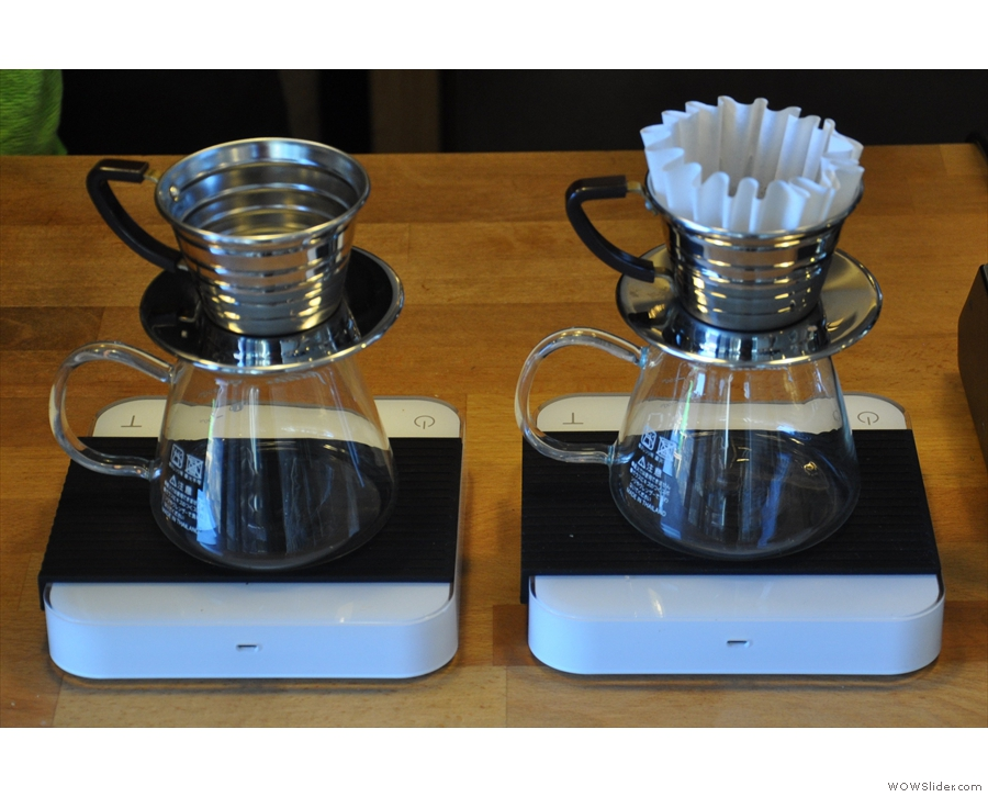 I leave you with a lesson in making a Kalita-wave filter.