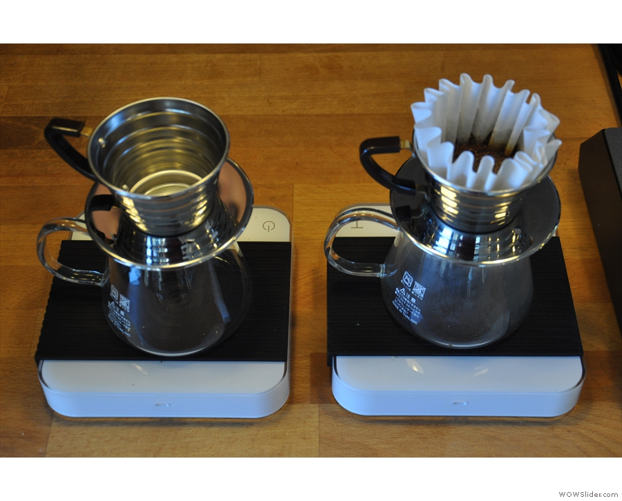 ... and a pair of Kalita-wave filters.