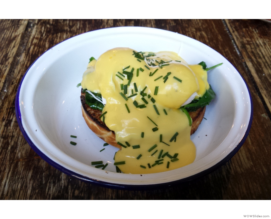 ... and Eggs Florentine. One day I'll surprise you all!