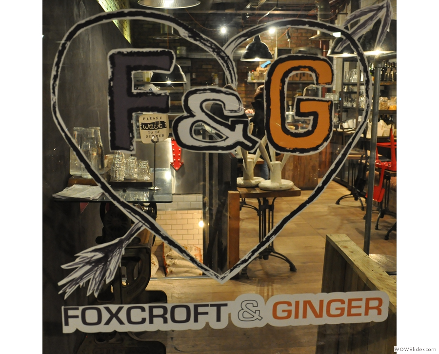 Want to find out more about Foxcroft & Ginger? Click on the picture for an update from 2015.