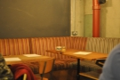 The seating used to be as mix-and-match as the tables...