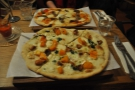 I didn't sample the food on my first visit, but on subsequent trips, I've eaten a lot of pizza!