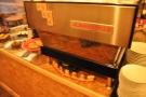 ... and the espresso machine...