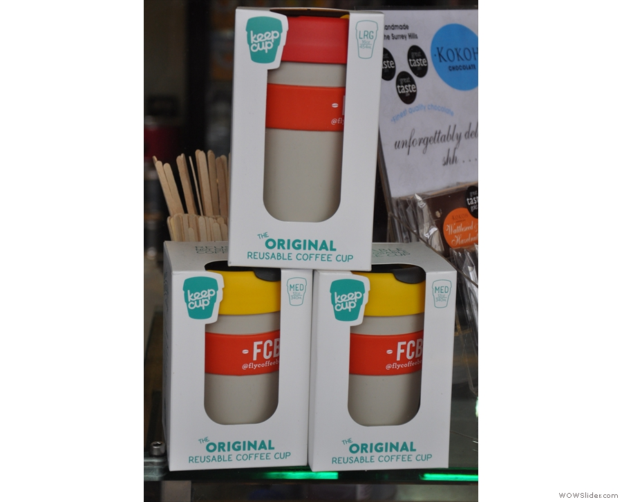 FCB sells Keep Cups, along with all the other coffee kit. It also offers a Keep Cup discount...