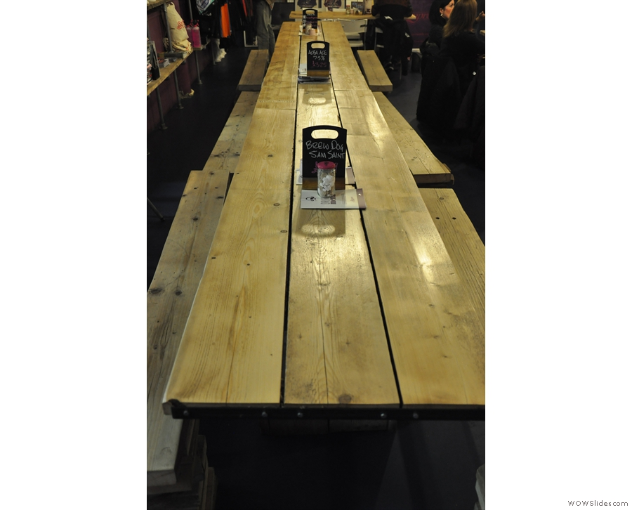 The table really is long though.