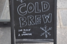 It was the summer of cold brew while I was there in 2014.