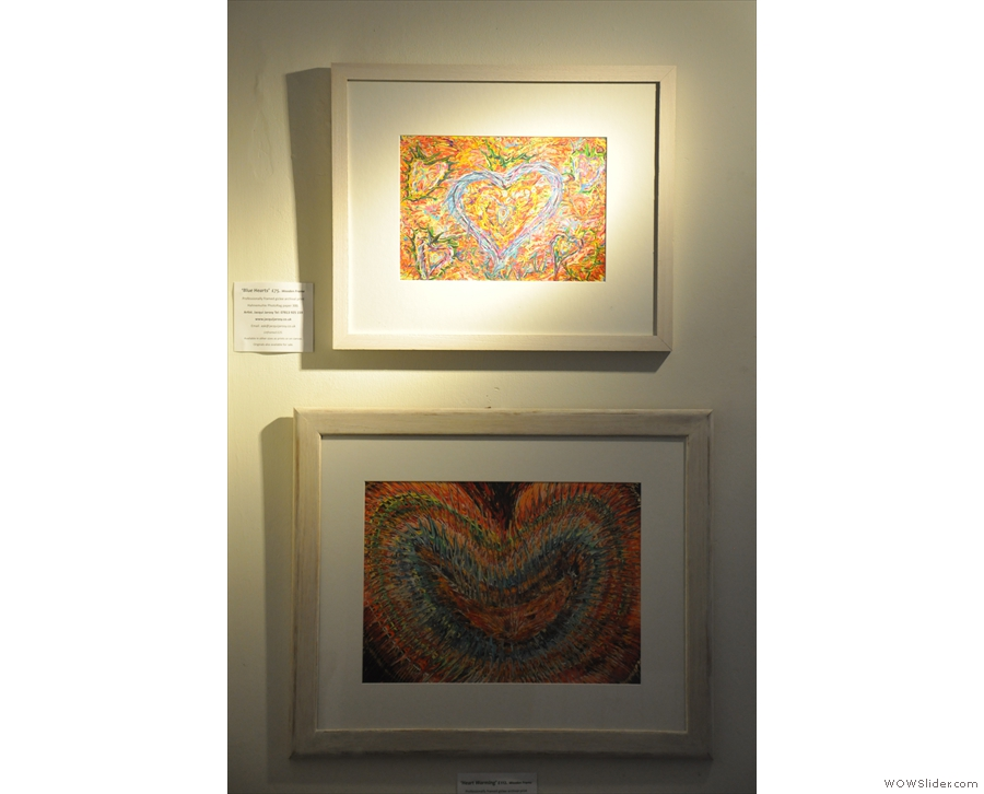 ...as are these two pieces, which are also for sale.