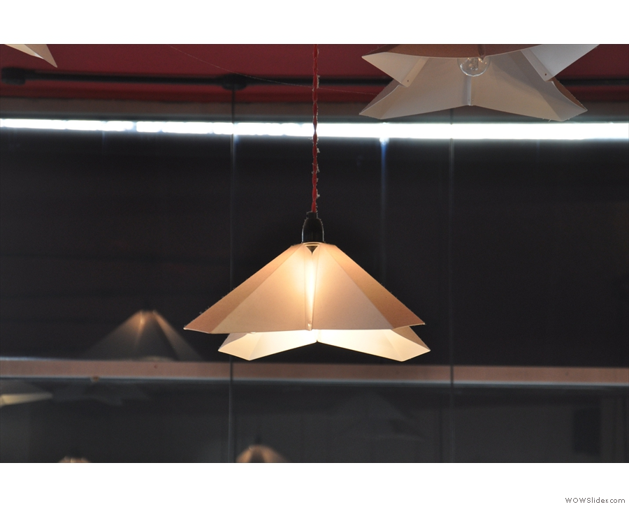 This is the main type of light-fitting which hangs from the ceiling...