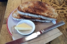 I however, went slightly more savoury with toast.