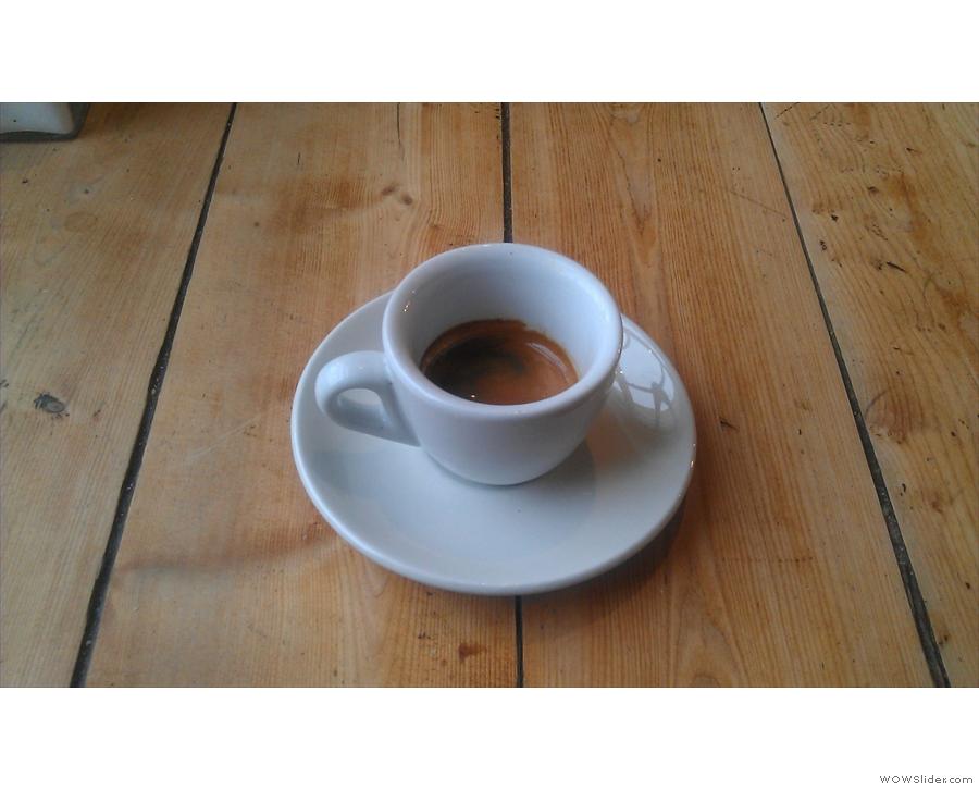 The spring espresso blend.