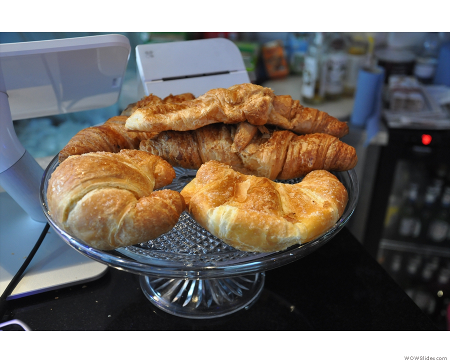 ... including these croissants...
