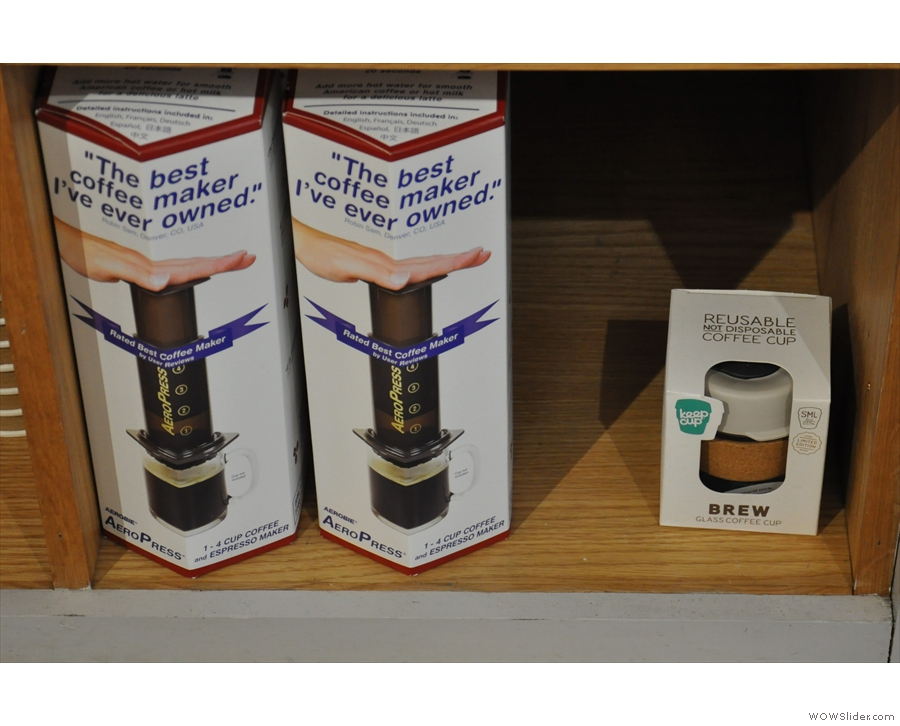 ... and the perfect combination, Aeropress and Keep Cup!
