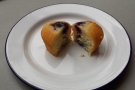 ... and my lovely blueberry Friand!