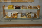 There's also a decent selection of cakes.
