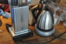 Bulk-brew, meanwhile, is provided by the Moccamaster.