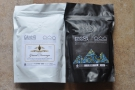 I also got to take these two beauties away with me. I'll be trying the Rwanda this afternoon.