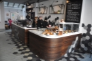 Talking of the counter, it really is a handsome beast, with cake and till to the fore.