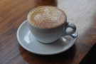 On my most recent visit, I was with company in the shape of a cappucino-drinking friend.