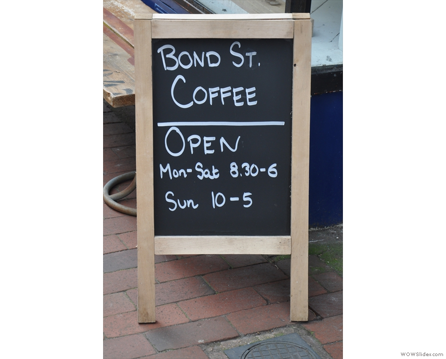 Talking of simple, the A-board is straightforward and direct.