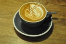 However, the barista wasn't happy with it, so I was given this one to photograph too :-)