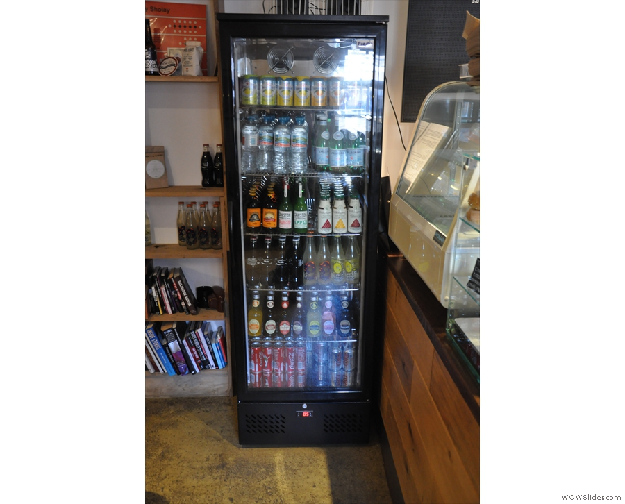 If you don't fancy tea or coffee, there's a decent selection of soft drinks too.