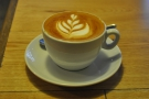 I then tried it as a flat white, where it really came into its own.