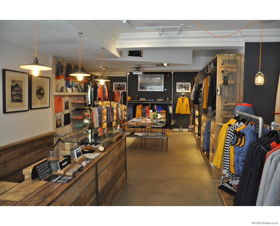 In fact, it looks very much like a surf shop! Probably because it is...