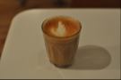 I also went for a decaf flat white which was a single origin Columbian bean and came in a glass.