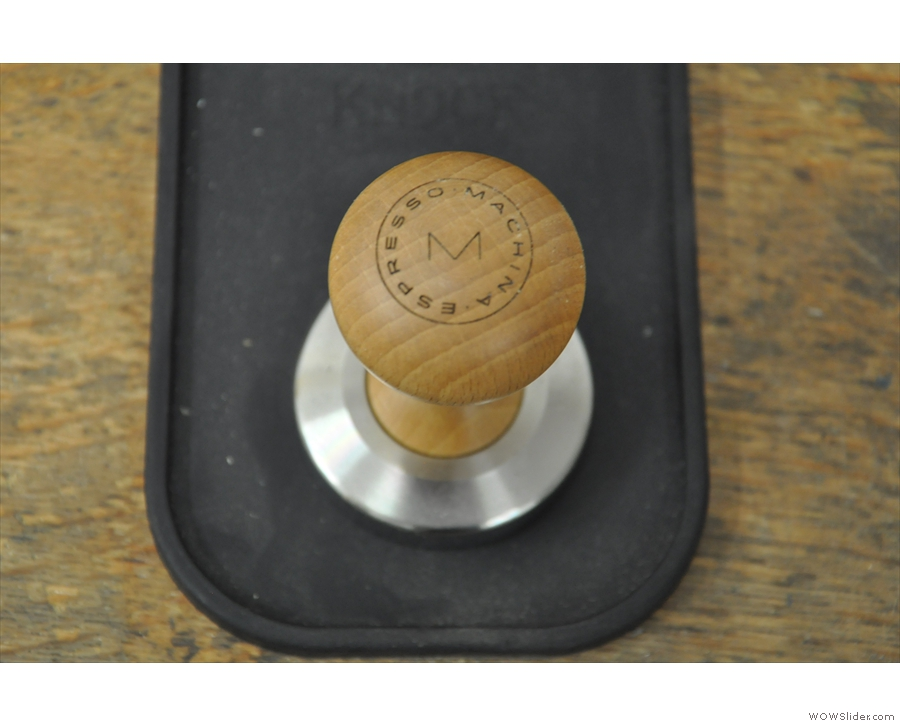 Next, Made by Knock diversified into tampers. You can get them custom-branded you know.