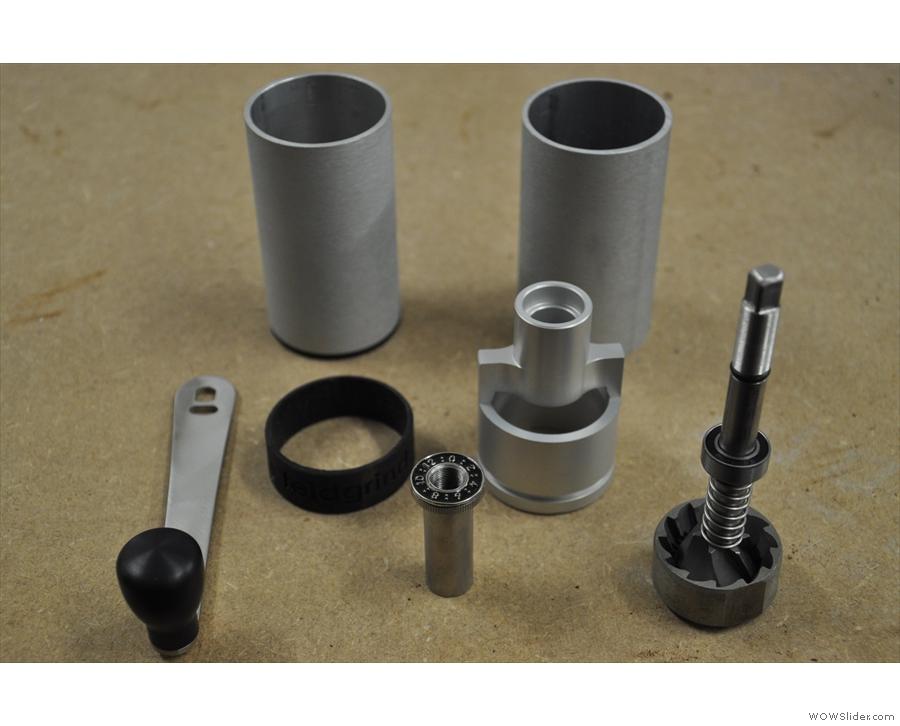 A DIY feltgrind... Just assemble the parts!
