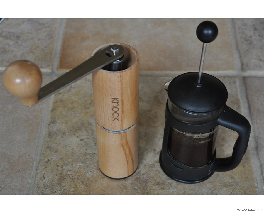 ... and for my cafetiere at home.