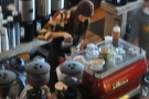 ... and watch the baristas hard at work too!