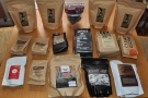 ... while this was the coffee collection. I worked it out at just under 3 kg!!