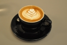 I also had a flat white, made with the house-blend.