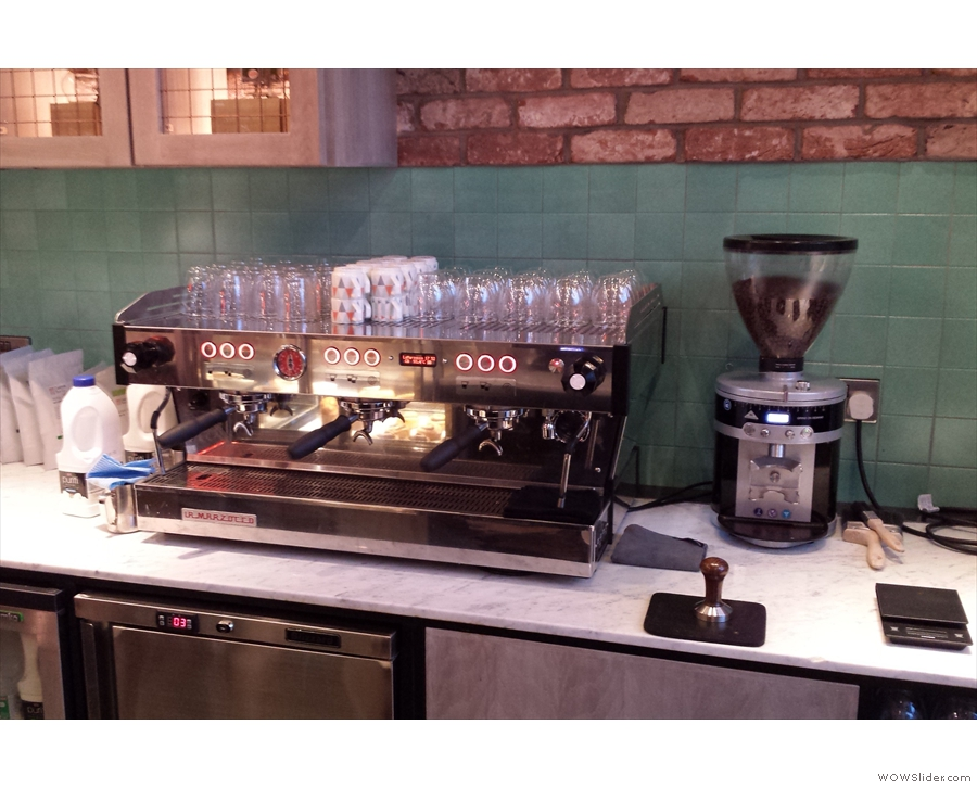 KuPP takes its coffee-making seriously...
