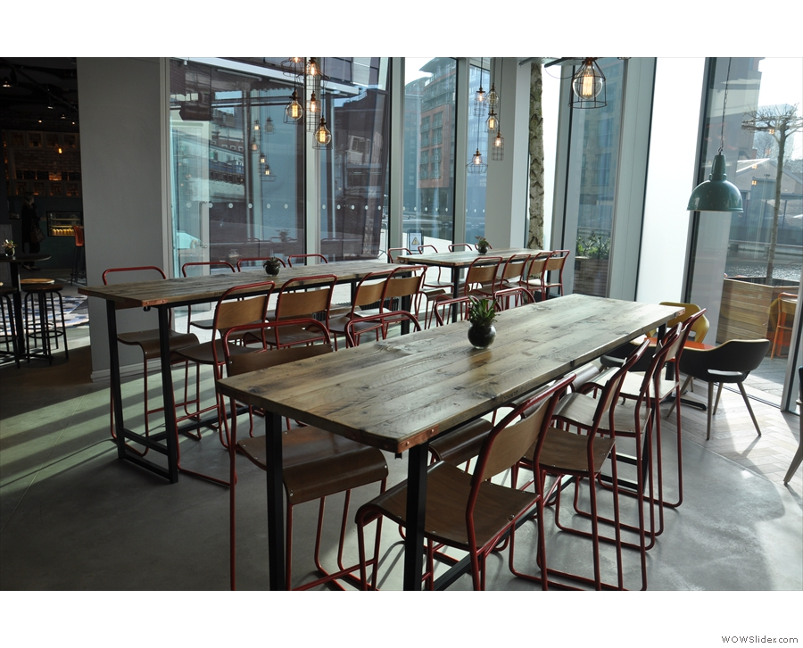 Alternatively, how about these communal tables? Very Scandinavian.