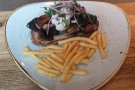 I've tried the lunch menu: delicious wild mushrooms, wilted spinach & poached egg on toast.