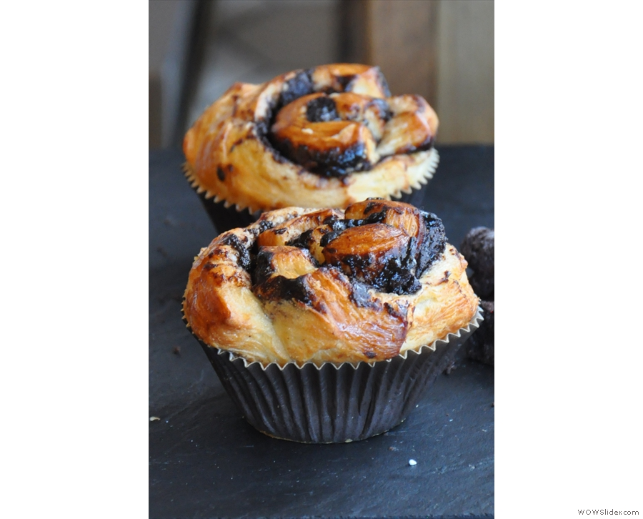 These were my favourites: they are cruffins, a cross between a croissant and muffin.