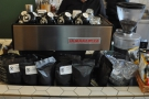 ... all produced by the La Marzocco at the far end of the counter.