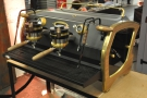 Talking of pretty machines... A custom La Marzocco...