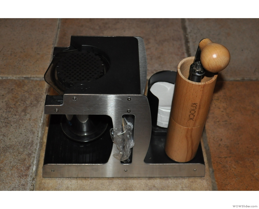 I can also use it to store my Aeropress...