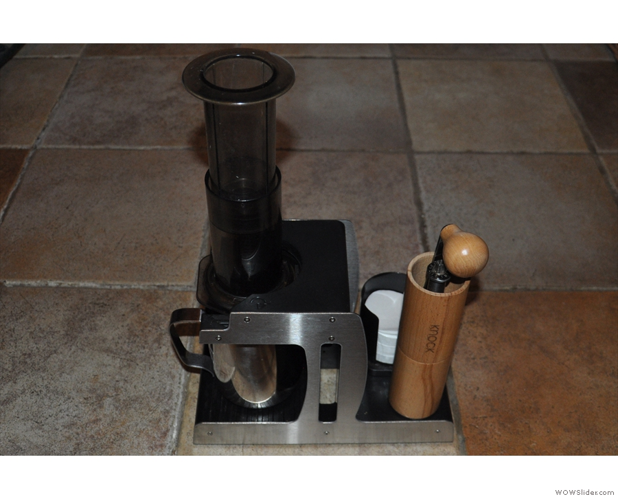 ... or, of course, to use it with my Aeropress.