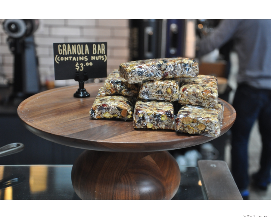 For those with a slightly less sweet tooth, how about granola bars?