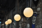 There are lots of these globular lights around the place...