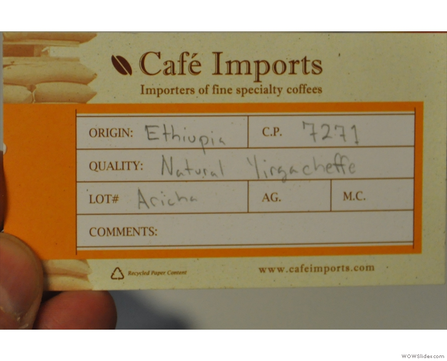 ... and this one from Ethiopia.