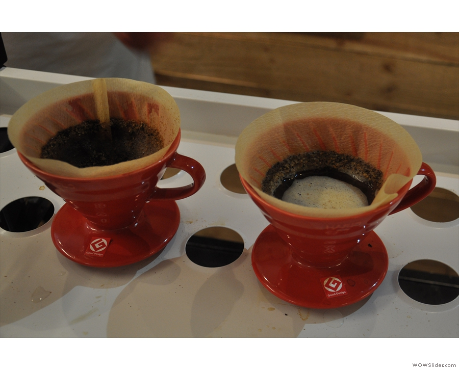 ... brewed through the V60 by Luke from Caravan.