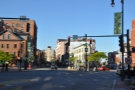 Next stop, Portland, Maine! The view along Congress Street, heading into town.