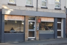Upshot Espresso, on Sheffield's Glossop Road, has a very unpretentious exterior.