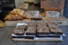 Although small, it is a very select selection, baked either in-house or by Alan the Bread Man.
