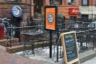 On Newbury Street, between Fairfield and Gloucester Streets, is the very welcoming sight of Wired Puppy.